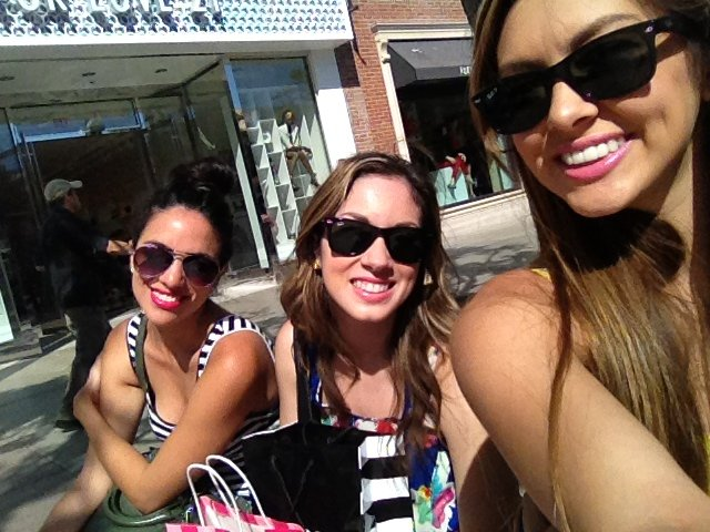 Shopping with some of my favorite people at 3rd and Promenade