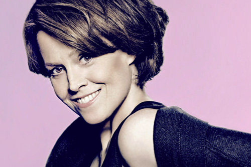 Sigourney Weaver photo bumper