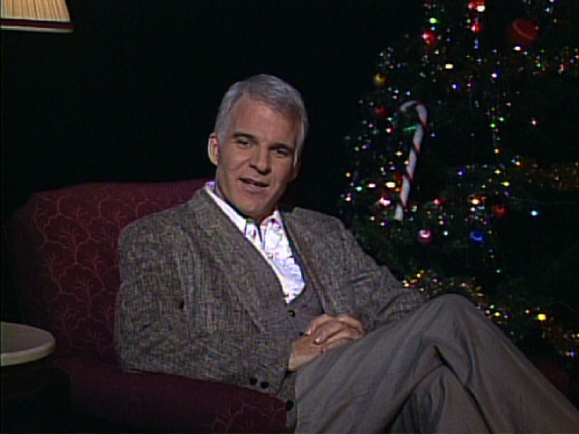 Steve Martin wishing for the world.