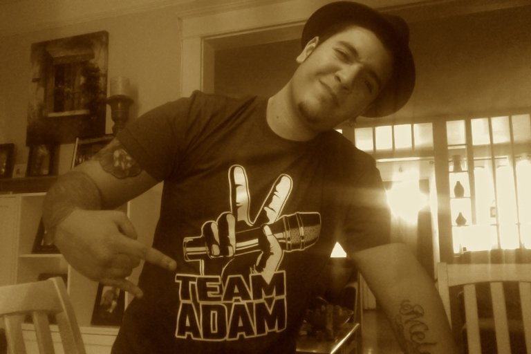 TEAM ADAM BABY!!!