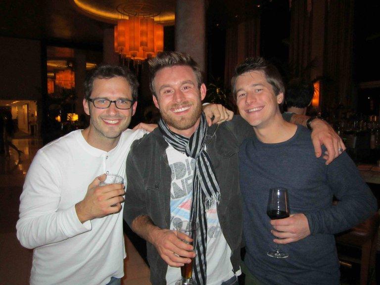 TONY, JUSTIN, and LELAND