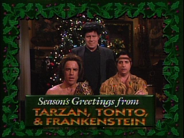Tarzan, Tonto, and Frankenstein