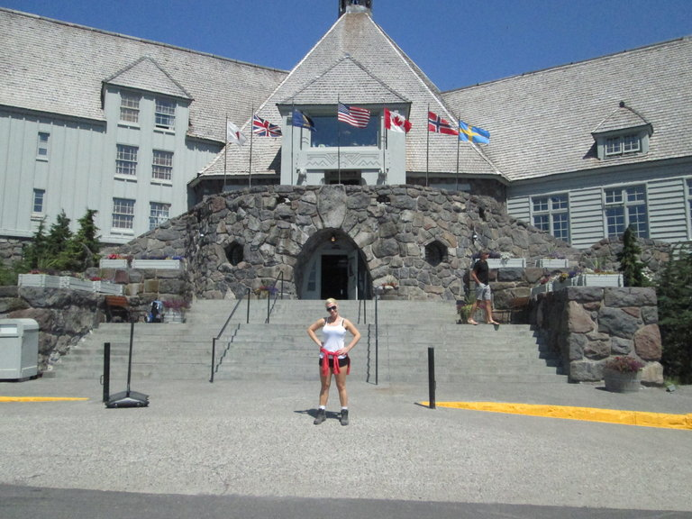 Tash at Timberline Lodge
