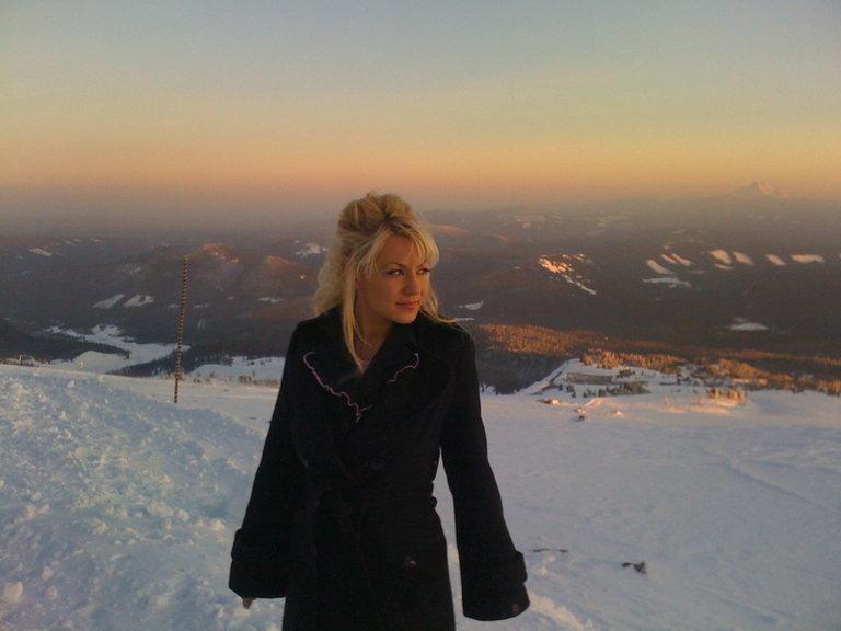 Tash on Mt. Hood