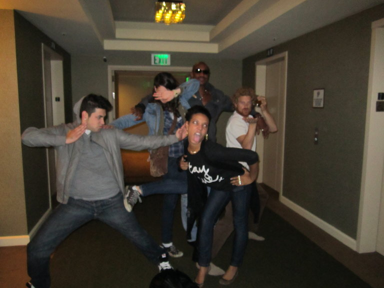 Team Xtina + Hotel Dance Party 1