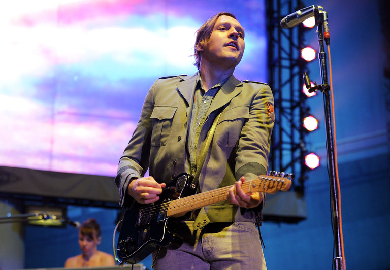 The Arcade Fire In Concert - Berkeley, CA