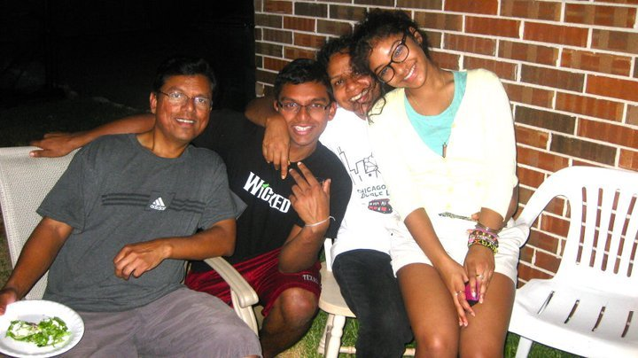 The Mathai clan at a family barbeque. My favorites:)