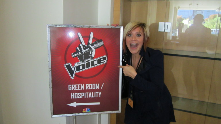 The Voice Sign and Me!