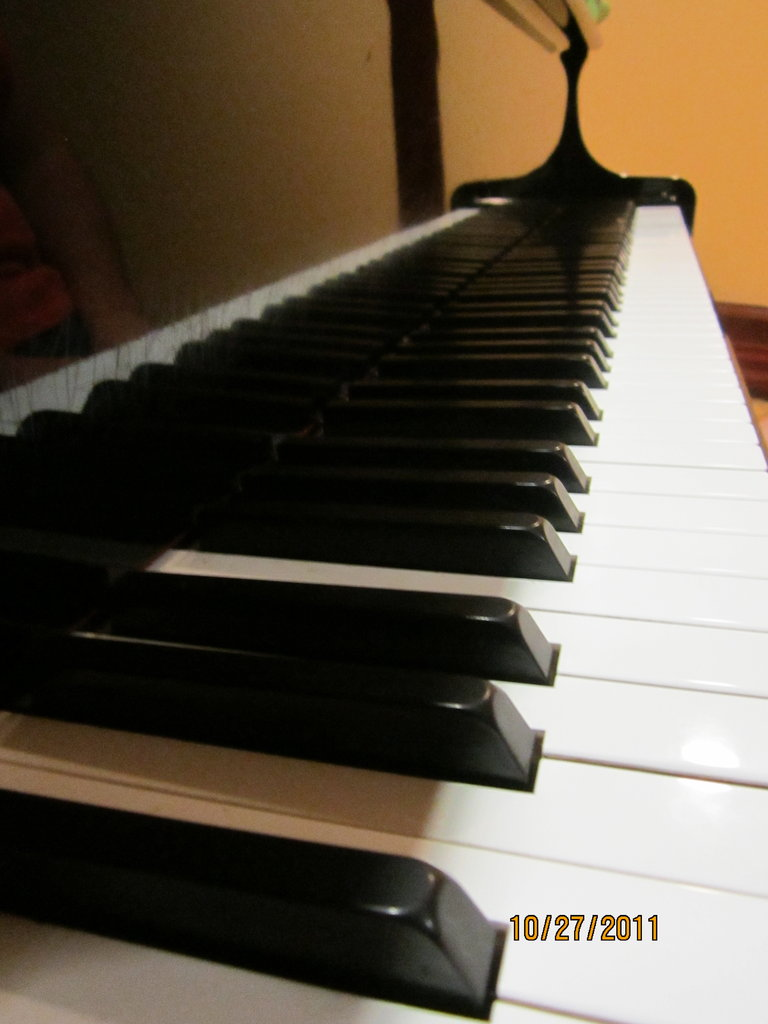 The Voice inspired me to start playing the piano, more pics soon! :)