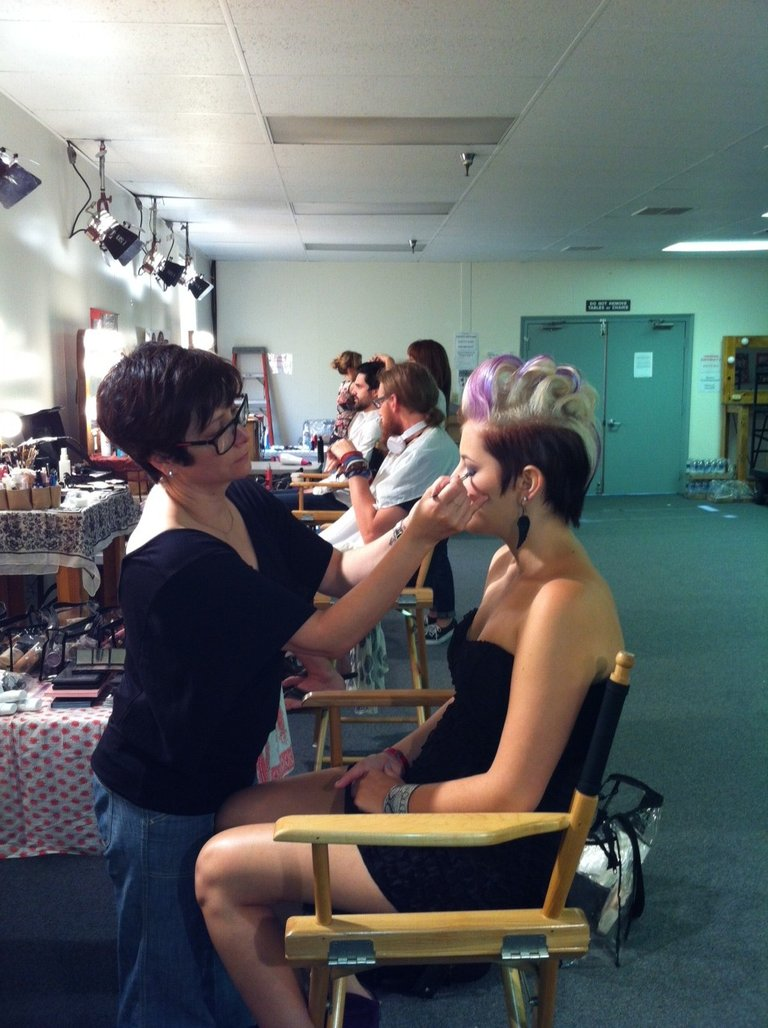 The best make-up crew ever!!!!