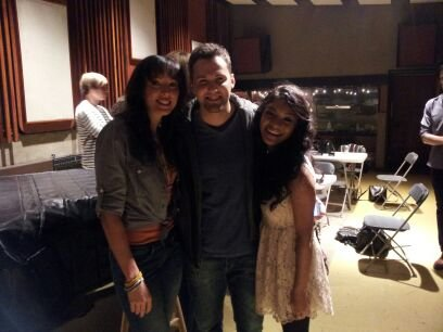 The biggest sweethearts in the world, no doubt:) Love these two. Karla, Chris , and I