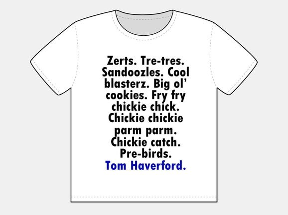 Tom Haverford's Slang