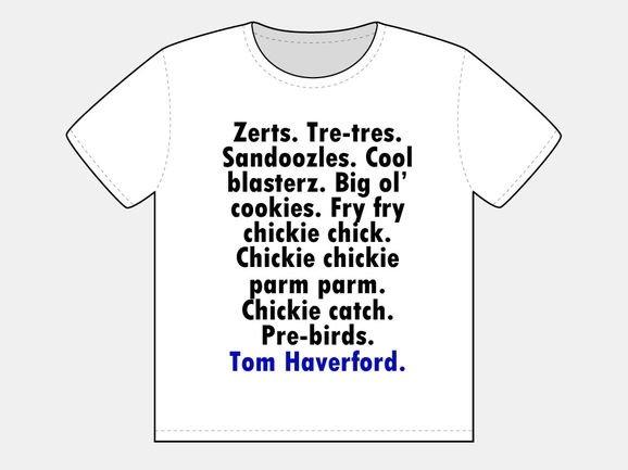 Tom Haverford's Slang