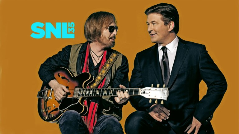 Tom Petty and Alec Baldwin Photo Bumper