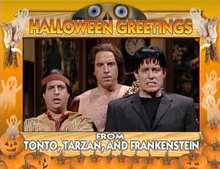 Tonto, Tarzan and Frankenstein