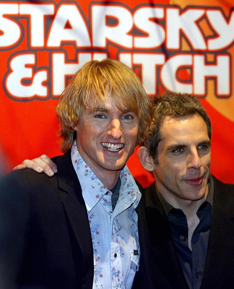 US actors Ben Stiller (R) and  Owen Wils