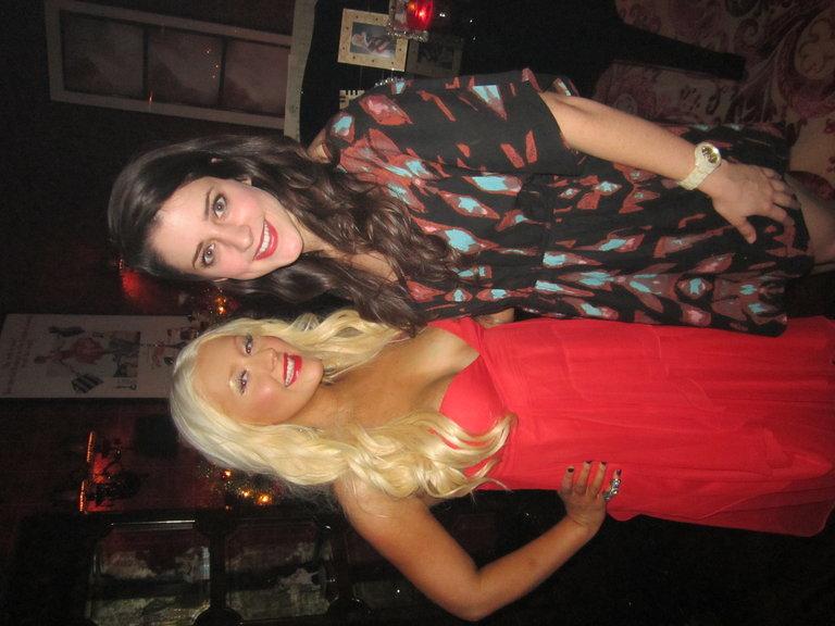 With Christina