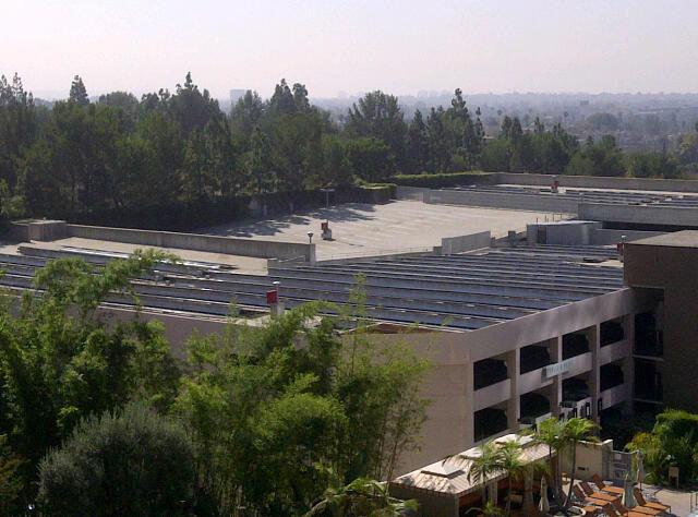 Yay! LA uses solar panels!