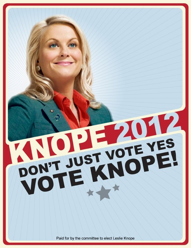 Yes and Knope 2012