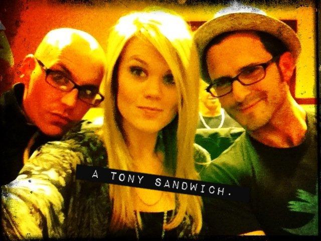 a tony sandwich.