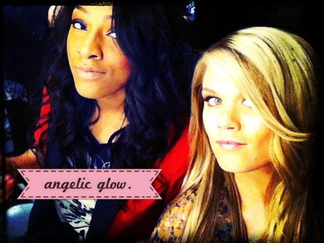angelic glow.