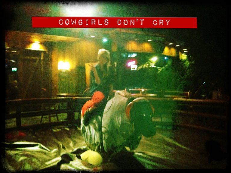 cowgirls don't cry.