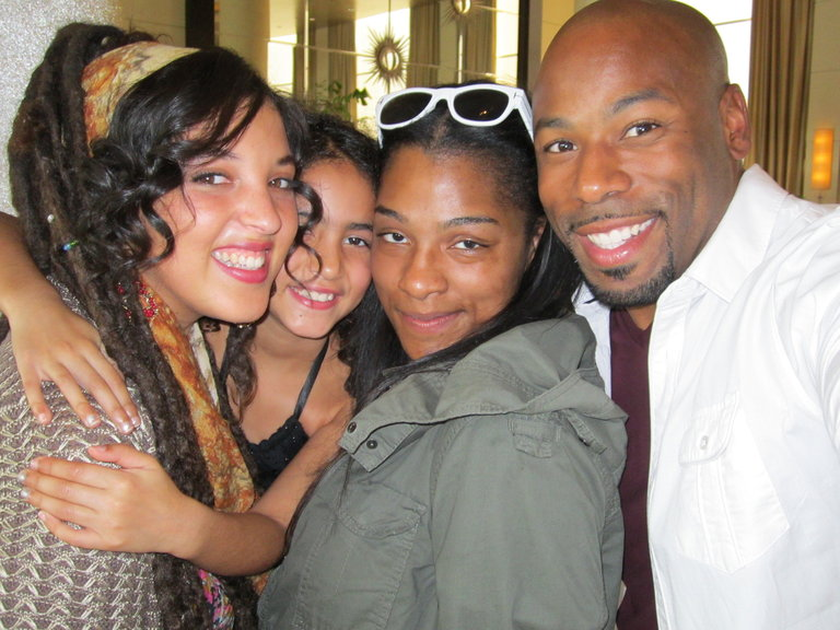 me, ashirah, angel and anthony
