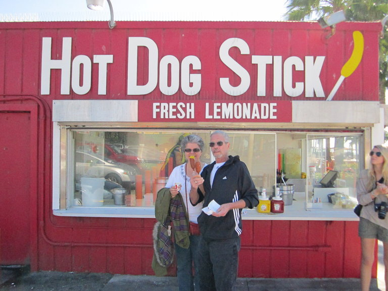 the Hot Dog Stick!