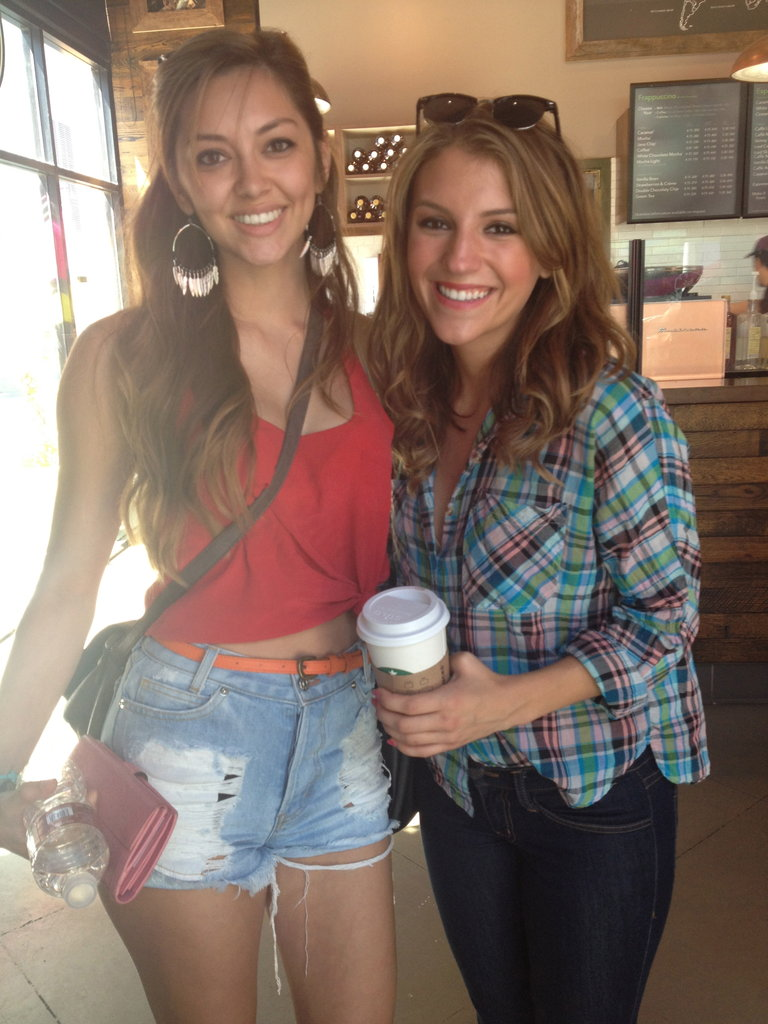 w Jordan at Starbucks! :)