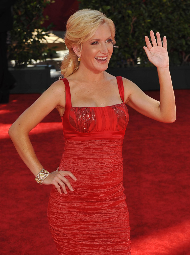 Actress Angela Kinsey from the TV series