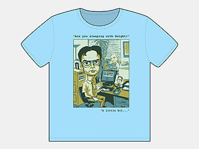 Dwight/Angela Cartoon