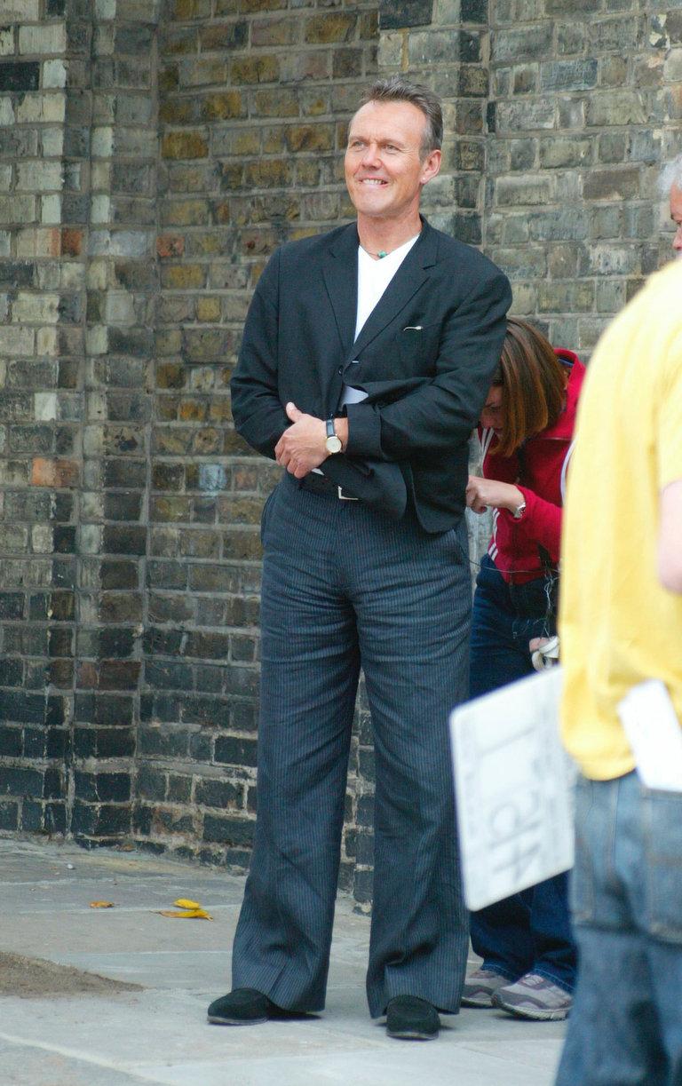 Anthony Head On The Set Of Manchild