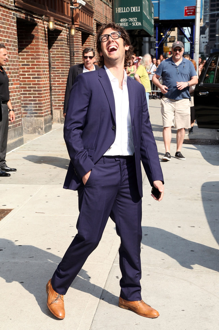 "Celebrities Visit ""Late Show With David Letterman"" - August 1, 2011"
