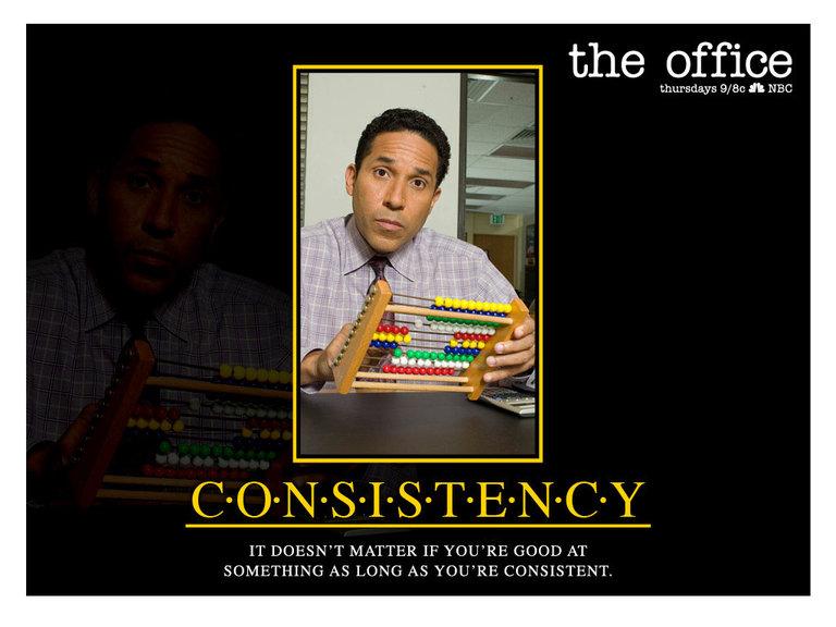 Consistency - Oscar Martinez
