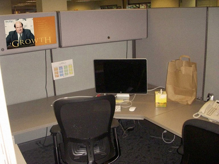 Cubicle Inspiration by Aaron Poisson