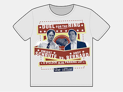 Duel for the Ring: Schrute vs. Bernard