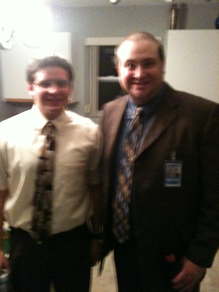 Dwight and Kevin