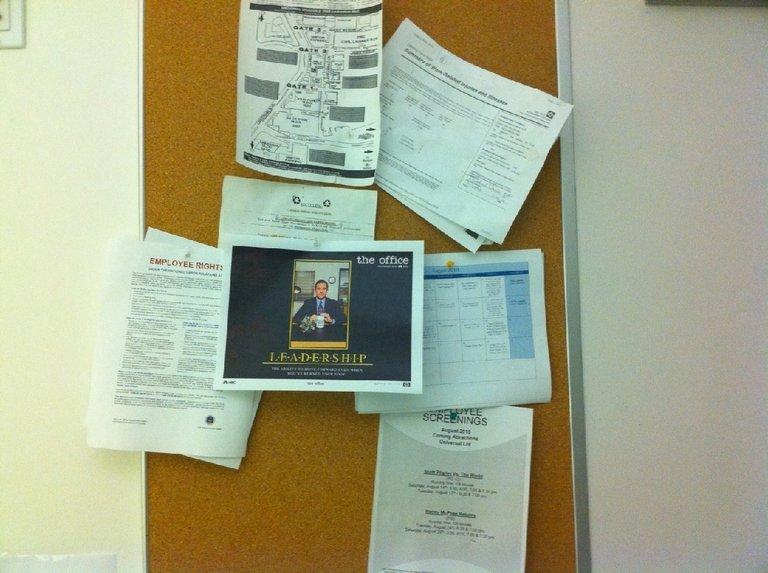 Leadership - Michael Scott in My Office