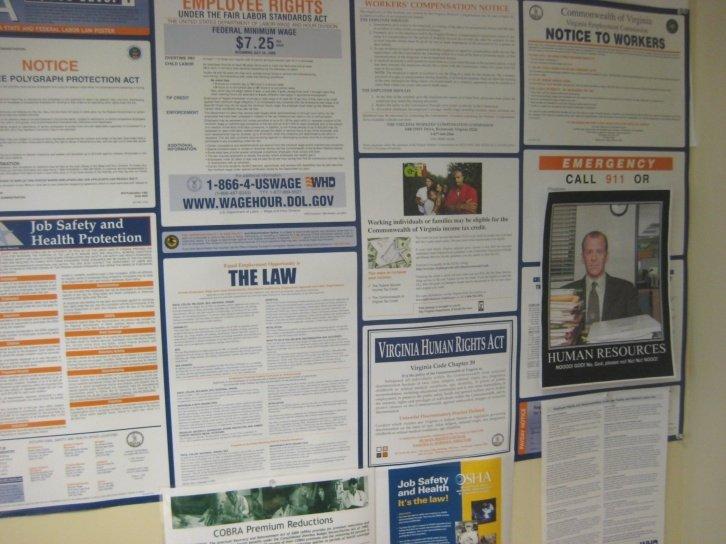 Mandatory Posters