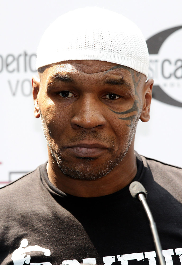 Mike Tyson Press Conference In Milan