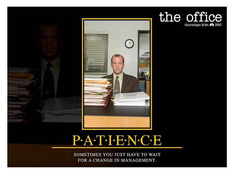 Patience - Toby Flenderson