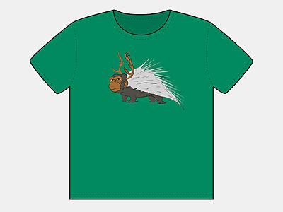 Monkey/Reindeer/Porcupine
