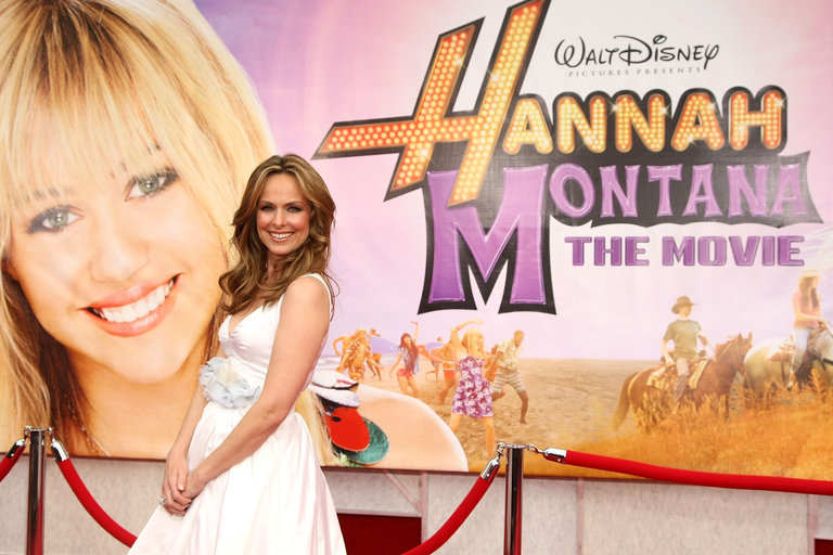 "Premiere Of Walt Disney Pictures' ""Hannah Montana The Movie"" - Arrivals"