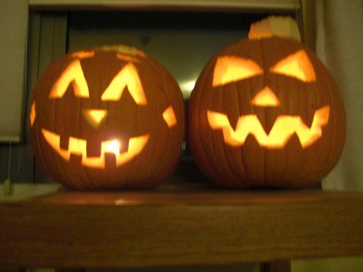 Pumpkin Jim and Pam