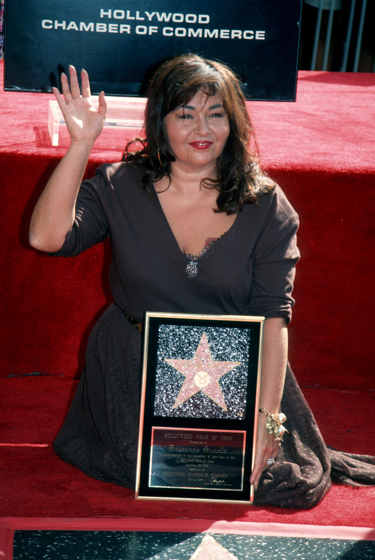 Rosanne Honored with Star on Hollywood Walk of Fame