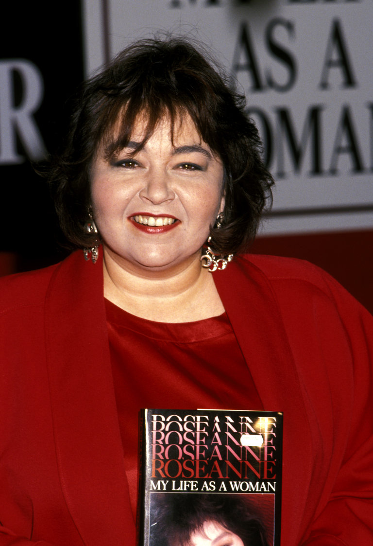 "Roseanne Signs Her New Book ""My Life As a Woman"" - September 27, 1989"