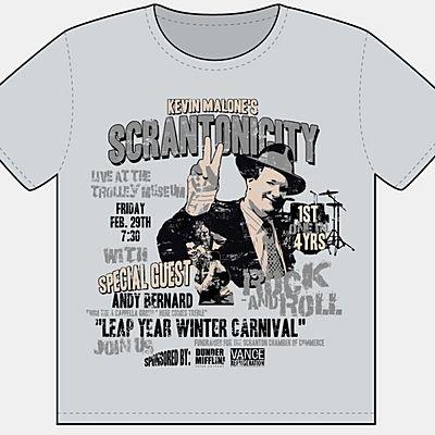 Scrantonicity Concert Poster
