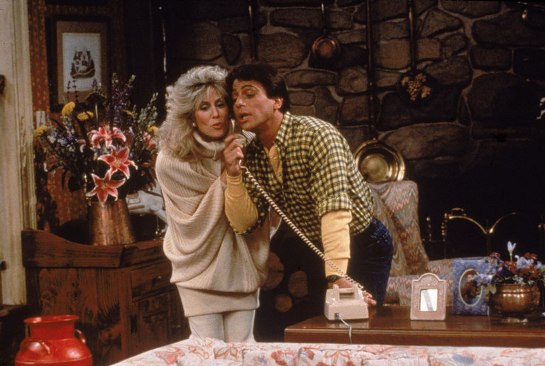Tony Danza & Judith Light In 'Who's The Boss'