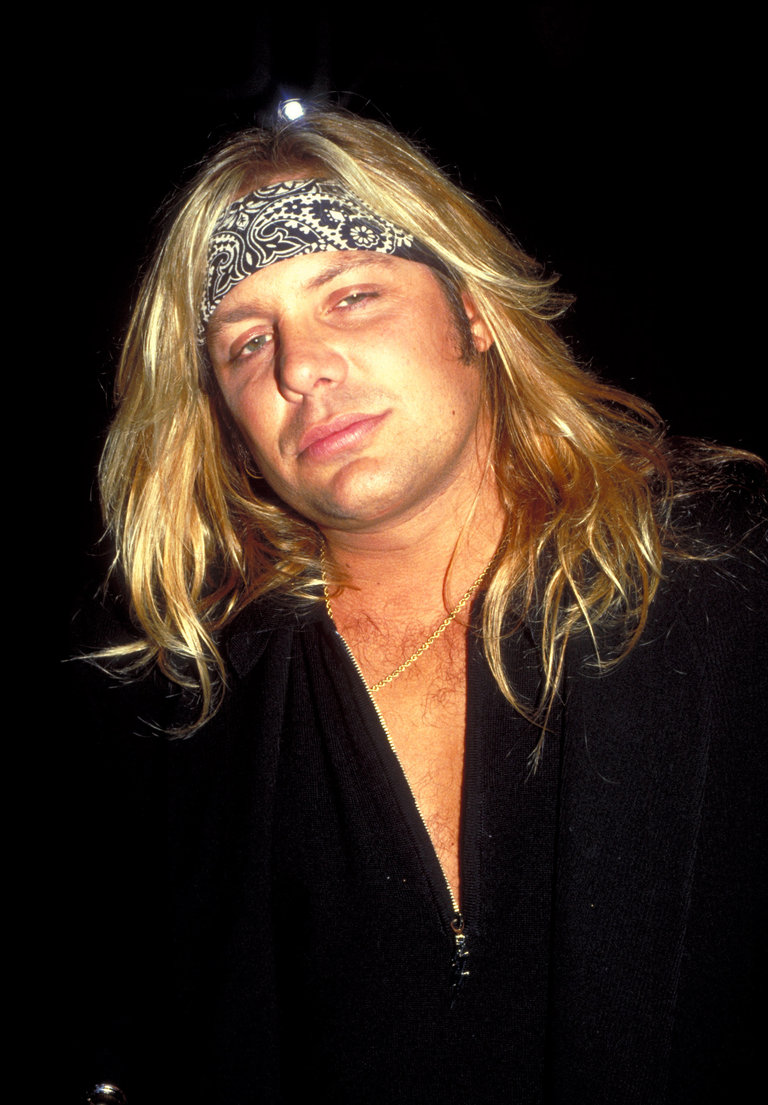 Vince Neil at Club USA - 1993