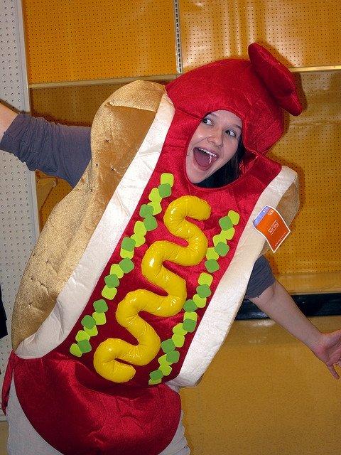 halloween hot dog